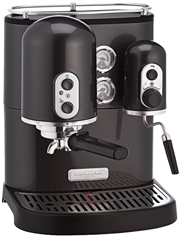 KitchenAid Artisan - Cafetera (Independiente, Negro, Espresso machine, De café molido, Café, Café expreso, 2,5L)