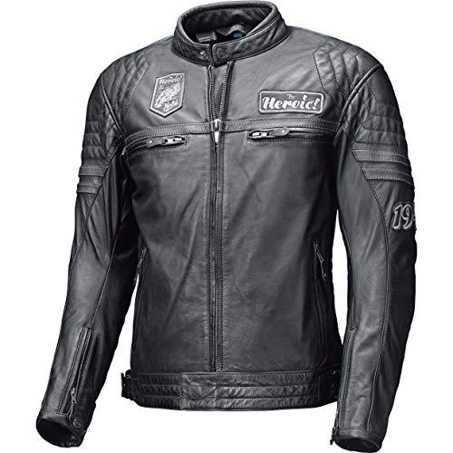 Held Motorradjacke mit Protektoren Motorrad Jacke Baker Lederjacke schwarz 56, Herren, Chopper/Cruiser, Sommer