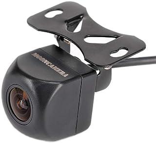 MOONCAMERA 車バックカメラフロントカメラ バックカメラ本体高画質リアカメラ小型カメラ超強暗視で夜でも見える広角度カメラ超広角水平150°/垂直120° 角度調整可能 正像・鏡像切替/スケール表示・非表示切替式スーパー防水IP69K 日本語マニュアル【24ヶ月保証期間】
