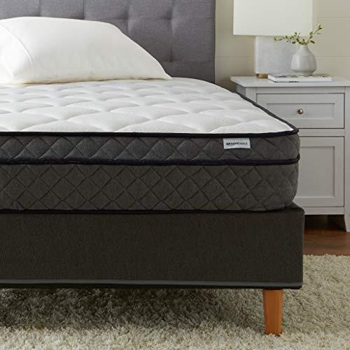 AmazonBasics Premium Foam PillowTop Mattress - CertiPUR-US Certified - 11-inch, Twin