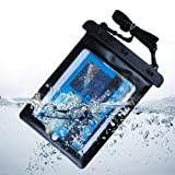 Black 10.1 inch Waterproof Tablet Pouch Dry Bag Case For iPad 2 3 4G / The New iPad / Samsung Galaxy Tab 10.1/Surface RT/Surface Pro/ThinkPad Tablet 2/Lumia Tablet/Accer W510P/GALAXY Note Tab 10.1 N8010 /Samsung P7510 16G/WiFi/ A1CS FUSION5 Tablet PC / Lenovo IdeaPad ThinkPad / Archos 10.1 / Asus EeePad Transformer Slider / Acer Aspire Iconia/ Motorola Xoom / Google Android Tablet / HP Touch Pad/A1CS X220 TABLETt /Coby Kyros 10.1/ASUS TF300T-A1-BL 10.1-Inch 16GB Tablet