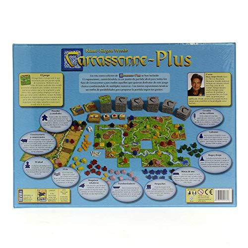 Devir - Carcassonne Plus 2014, juego de tablero: Amazon.es ...