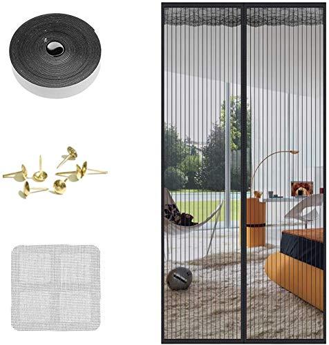 Faburo 210 * 90cm Zanzariera Magnetica per Porte para Porta Ingresso, Zanzariera Magnetica Porta para Anti Insetti Traspirante Chiusura Automatica