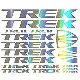 For TREK Bicycle Vinyl Die-Cut Sticker Kit Decal Mountain Bike styling decorative car body...