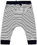 Petit Bateau A01EI Pantalones de Vestir, Blanco/Azul, 3 años para Bebés