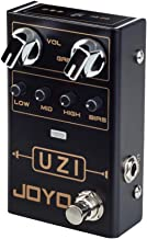 JOYO UZI Distortion Heavy Metal Effect Pedal with BIAS Knob Switch Between American Distortion and British Distortion for Electric Guitar Effect (R-03)