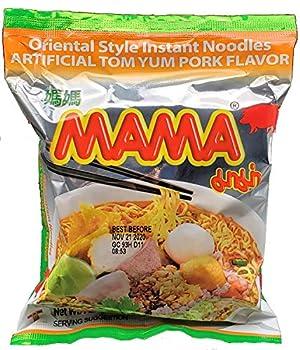 MAMA Tom Yum Pork Flavor Instant Ramen Noodles 30 Pack