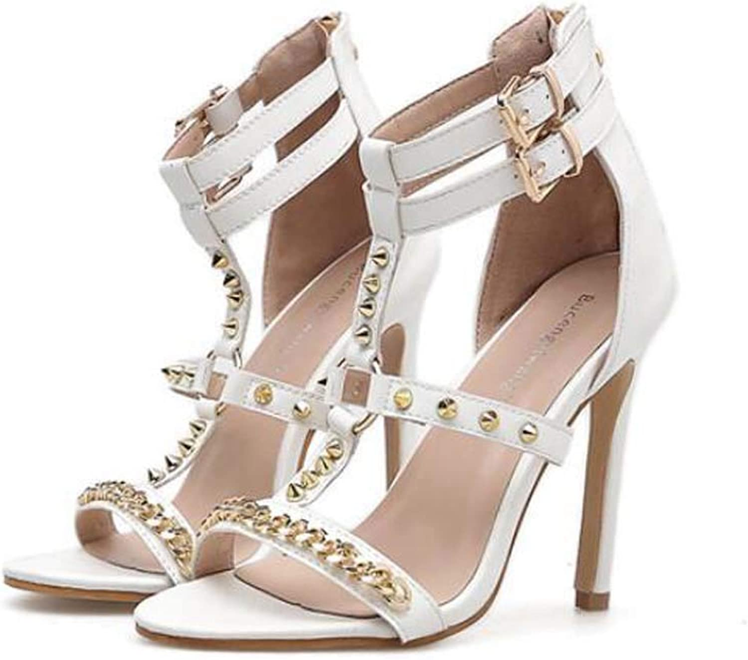 Women Pump High Heel Ankle Straps Sandals Sexy Open Toe D'Orsay Slingbacks Plush Party Dress shoes OL Roma shoes 35-40