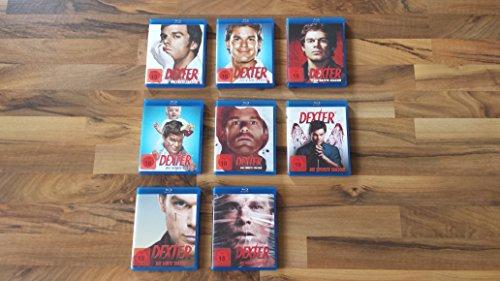 Dexter - Season/Staffel 1-8 deutsch im Set - Deutsche Originalware [34 Blu-rays]