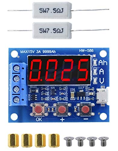 電池容量試験機 外部負荷放電タイプモジュール 1.2-12V 18650バッテリ使用可能