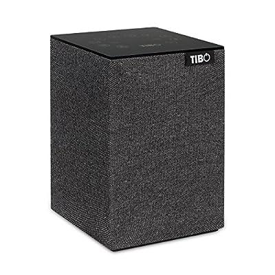 TIBO Choros 2 |Wi-Fi & Bluetooth Speaker | Multi Room Hi-Fi Speaker with Internet Radio | Grey from TIBO