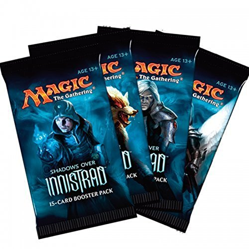 MTG Magic the Gathering Shadows Over Innistrad Booster, Pack of 6