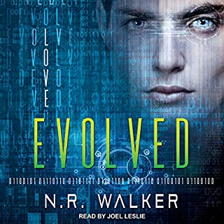 Evolved audiobook cover art