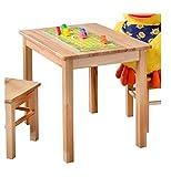 Kinder- oder Beistelltisch aus kernbuche massiv Holz Möbeldesign Team 2000 GmbH 1199 -