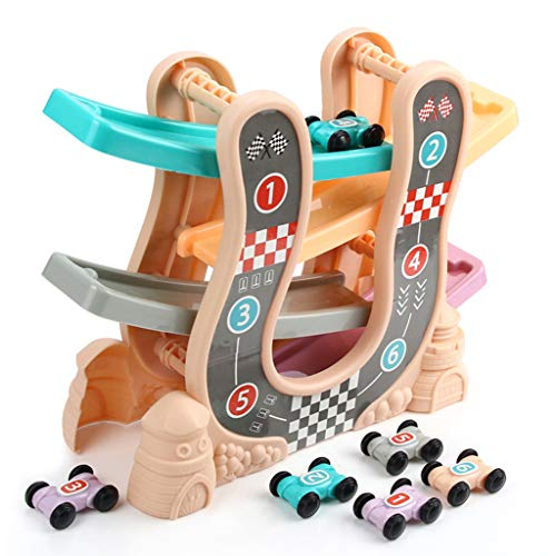Best Buy! kids toys Children's Track car Toy boy Fun Toy Educational Toy Baby Toy car Over 2 Years O...