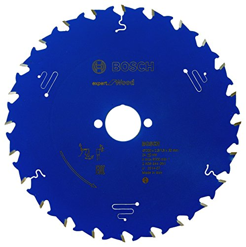 Preisvergleich Produktbild Bosch Professional Kreissägeblatt Expert für Wood (Holz,  200 x 30 x 2, 8 mm 24 Zähne,  Zubehör Kreissäge)