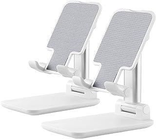 1 pacote de suporte para celular, suporte de celular ajustável, suporte de mesa portátil dobrável, suporte de celular ajus...