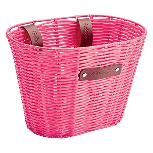 Electra Bicycle Electra Kinder Fahrradkorb Plastic Woven Basket, pink, Plastic Woven