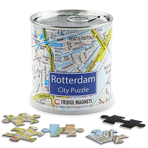 Rotterdam city puzzel magnetisch