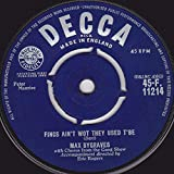 Max Bygraves - Fings Ain't Wot They Used T'Be - Decca - 45-F .11214