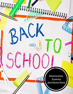 Homeschool Planner And Grade Book: Homeschool Log
