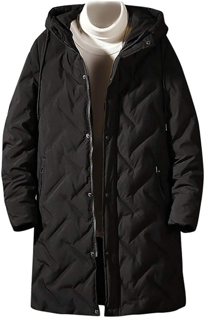 Men's Hoodies Down Coat Windproof Warm Winter Outdoor Outwear Windproof Zipper Jacket