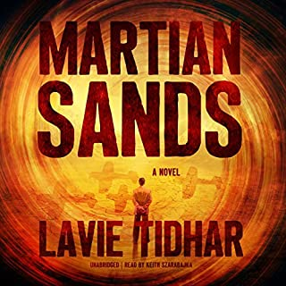 Martian Sands audiobook cover art