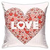 Fundas de almohada para el día de San Valentín, decoració