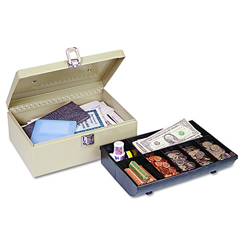 MMF Industries Cash Box with Latch Lock, 1 Each (221612003)