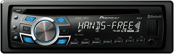 Pioneer DEH-7300BT CD Receiver with Bluetooth Built-In and iPod/iPhone Control