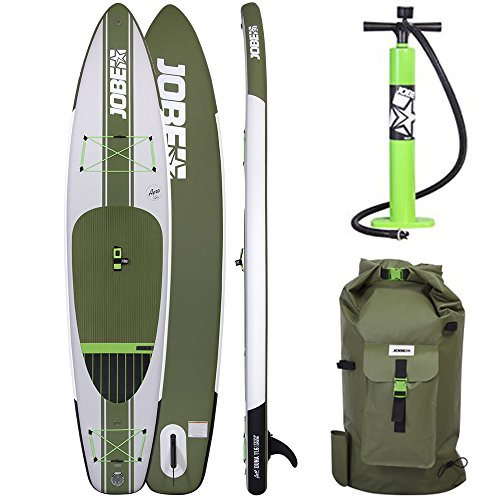 Jobe 2017 Aero Duna Inflatable Stand Up Paddle Board 11'6 x 31 INC Paddle, Backpack, Pump & Leash