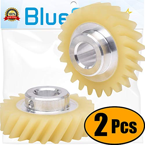 Ultra Durable W10112253 Mixer Worm Gear Replacement Part by Blue Stars  Exact Fit For Whirlpool & KitchenAid Mixers - Replaces 4162897 4169830 AP4295669 - PACK OF 2
