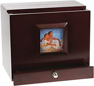 Max Plus Wooden Photo Album Box with Side Frame