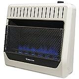 ProCom Heating Propane Gas Vent Free Blue Flame Gas Space Heater - 30,000 BTU, T-Stat Control - Model# ML300TBG