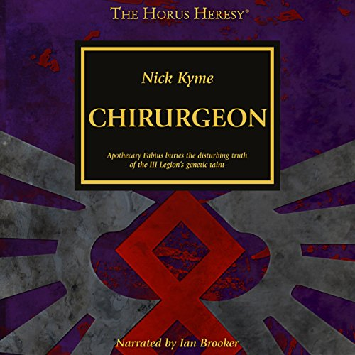 Chirurgeon audiobook cover art
