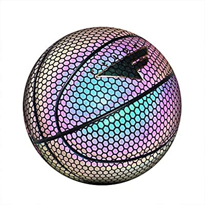 Tinani Glowing Reflective Basketball-Holographi...