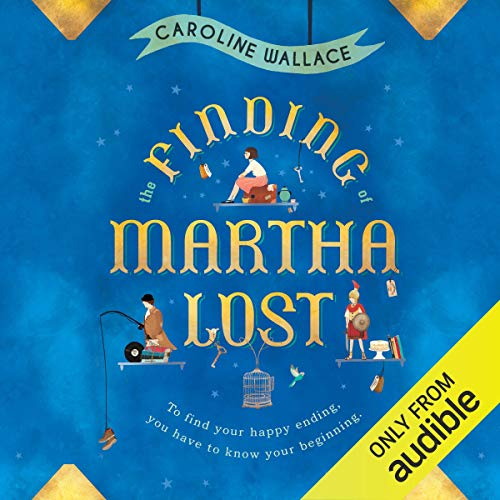 The Finding of Martha Lost cover art