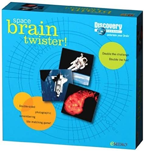 Discovery Channel Space Brain Twister Memory Match Game by EMEMO