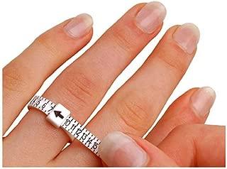 Dralog1-17 USA Sizes Economical Ring Sizer Gauge Finger Stick Mandrel Measurement White
