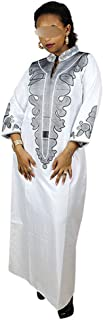 African Dresses for Women Elegant Traditional African Clothing Long Sleeve Without Scarf