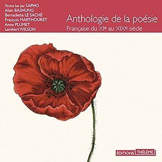 Couverture de Anthologie de la poésie française du XIème au XIXème siècle