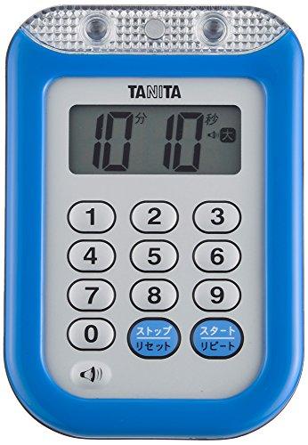 タニタ 防水大音量 タイマー TD-377 ブルー