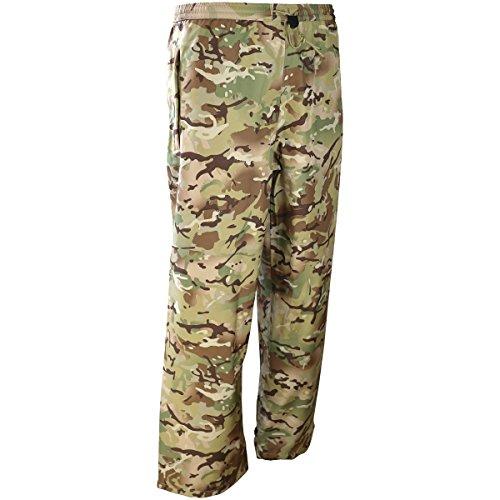 Kombat UK Mod Style KOM Tex Pantalon imperméable pour Homme S Motif Terrain Britannique.