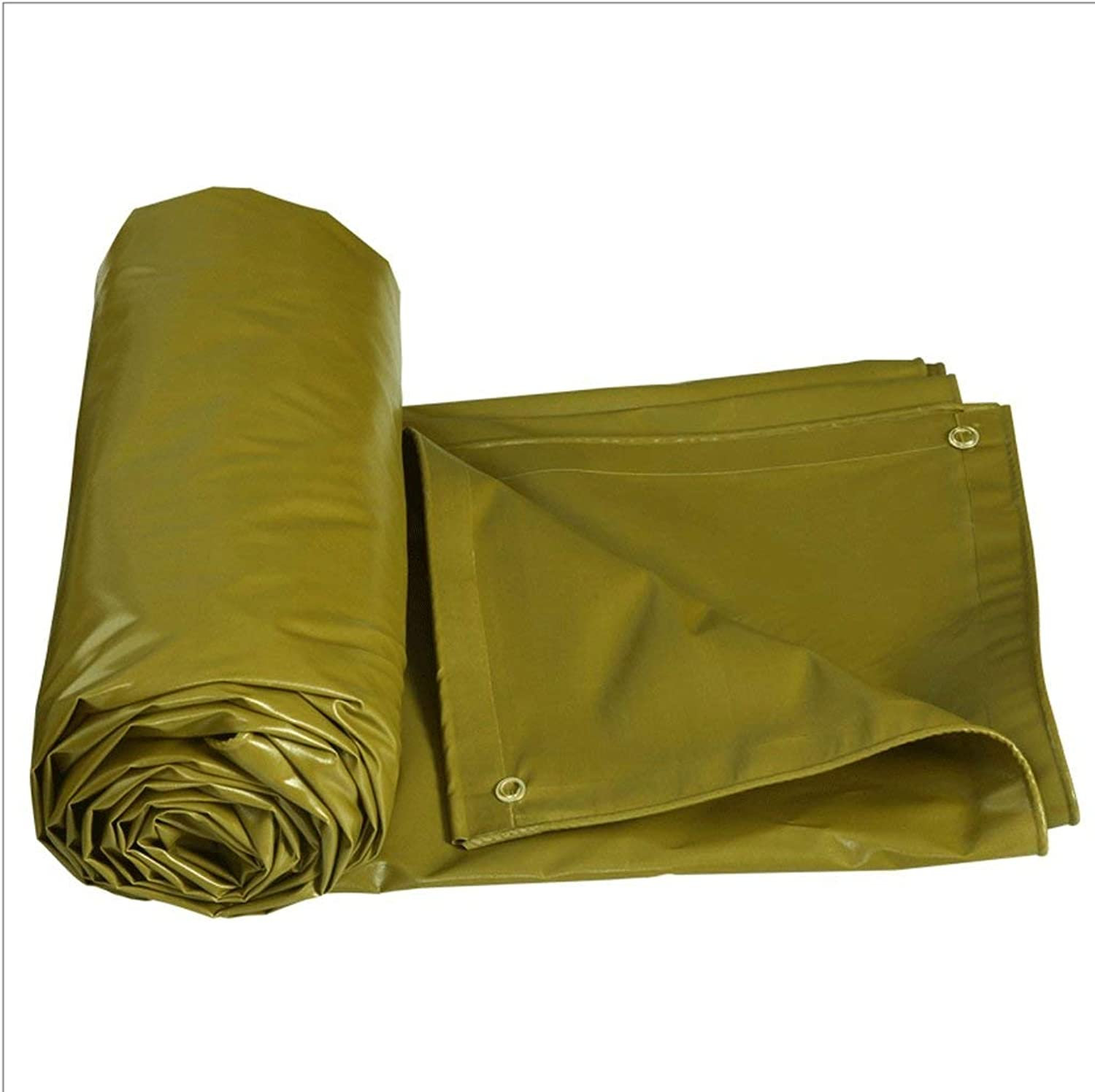 Tarpaulin Thick PVC Waterproof Sunscreen Warehouse Car Tarpaulin Outdoor Special Insulation Cloth Army Green 520G   Square Meter 100% Waterproof and UV Predection Carl Artbay Tarpaulin