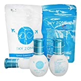 100 Bottles Sky Zone Eyelash Extension Glue 10ml, Professional Black Bonding Adhesive for Long Lasting Eyelash Extensions, 1-2s Fast Drying, 5-6 Week Retention