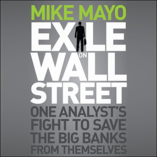 Exile on Wall Street audiobook cover art