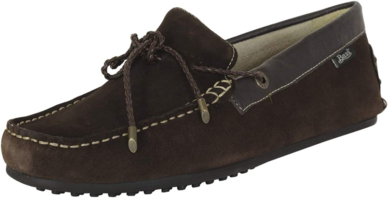 G.H. Bass Co. Men's Tobby-Suede Shoes price Ranking integrated 1st place Driving Brown Loafers LE
