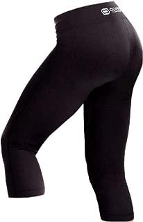 Copper Compression Womens Capri Leggings - High Waist Pants, Tights, Capris