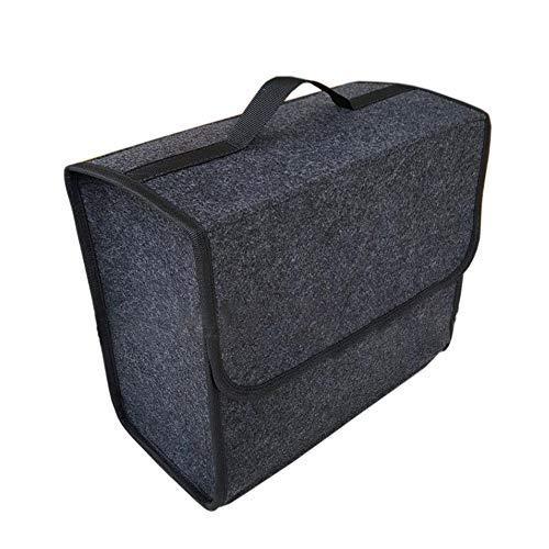 MiOYOOW Auto Kofferraumtasche, Organizer mit Deckel Auto Kofferraum Organizer - Kofferraum Auto Kofferraum Wasserdicht Autotasche Autobox Autokofferraumtasche, 30 × 16 × 29 cm