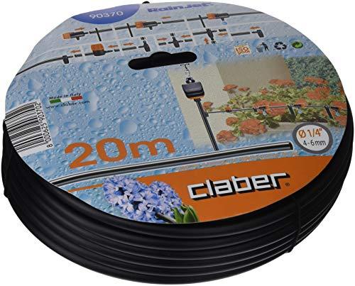 "Claber 90370 Tubo Capilar Micro de 20 m, 1/4"" (4-6 mm) diámetro"